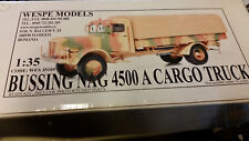 Bussing Nag 4500 A Cargo Truck Wespe Resin Models 1:35 Wes 35105