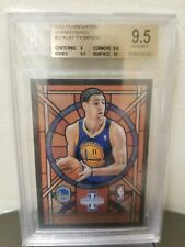 BGS 9.5 2012/13  Panini Innovation Klay Thompson RC Rookie Stained Glass Rare
