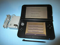 Nintendo 3DS XL Super Smash Bros. Blue Edition w/Charger FREE Shipping!