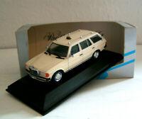 Mercedes-Benz W 123 T-Modell Kombi Taxi - Minichamps 1:43!