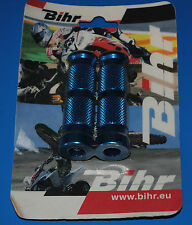 1 paire de repose pieds racing Bihr bleu réf. 442001 neuf