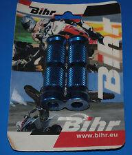 1 paire de repose pieds racing Bihr / Alloy Ultima bleu réf. 442001 neuf