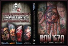 Ron Russo From Ron570 Tattooing Tattoo Tutorial DVD