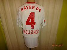Bayer 04 Leverkusen ADIDAS FORMOTION MatchWorn MAGLIA + N. 4 wollscheid Taglia L