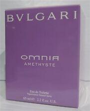 BVLGARI Omnia Amethyste 65ml EDT EAU DE TOILETTE SPRAY Bulgari vecchia Esegui. NUOVO