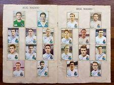 Álbum Liga 1961-62 Disgra AUTÓGRAFOS originales R Madrid Barcelona Valencia