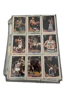 basketball cards Rare Set In Card Sleeve Protector