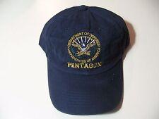 Pentagon Department of Defense: hook and loop strap adjustable hat/ball cap, NEW