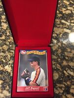 JEFF BAGWELL 1992 POST COMPLETE SEALED 30 CARD ROOKIE SET & RARE POST CASE!