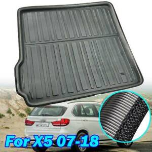 Rear Trunk Mat For BMW X5 E70 F15 2007-2017 Cargo Liner  Boot Floor Tray Carpet