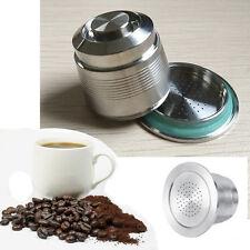Hot Neu Edelstahl Filter Nachfüllbare Kaffee Kapsel Pod Für Nespresso Maschine