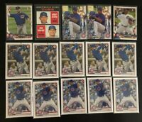 (x55) Nico Hoerner & Adbert Alzolay LOT (1st Bowman) (RC) Chicago Cubs Rookie
