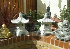 Pagoda pagodas Garden ornaments oriental Japanese / Chinese lantern / koi carp