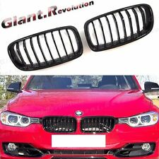 Gloss Black P Type Front Radiator Grille For BMW F30 F31 2012+ 328i 335i 4DR 5DR
