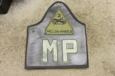 US ARMY MILITARY POLICE ARMBAND BRASSARD HELL ON WHEELS MP 2ND ARMORED SUBDUED