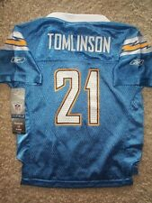 ($40) San Diego Chargers LADANIAN TOMLINSON nfl THROWBACK Jersey TODDLER (3T)