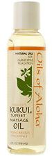 Hawaiian Kukui Sunset Massage Oil ~ 4 Oz