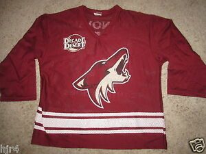Ed Jovanovski #55 Phoenix Coyotes NHL Hockey Jersey Youth XL 18-20