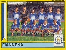 N°351 TEAM PAS GIANNINA FC GREECE PANINI GREEK LEAGUE FOOT 95 STICKER 1995