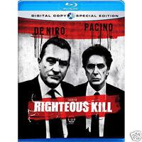 Righteous Kill (Blu Ray) De Niro / Pacino SE - NEW