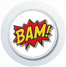 SUPERHERO COMIC BAM CAR TAX DISC HOLDER REUSABLE