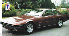 FERRARI 400 SPEC SHEET/Brochure/Pamphlet/Catalog:1980,