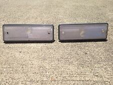 1978-1987 El Camino & Malibu Wagon NEW Clear Rear Side Marker Lens Light Set 2