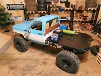 Scalemonkey flatbed utility bed Conversion for RC4WD Blazer Body rc axial scx10