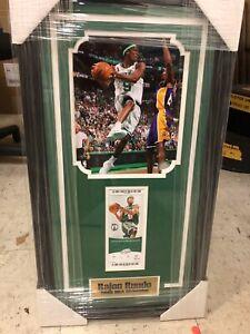 Rajon Rondo Boston Celtics 8x10 Framed Photo & Ticket Collage