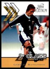 Carte collezionabili calcio 2002 gabriel batistuta