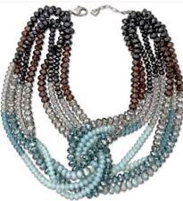 Authentic Swarovski Statement Necklace Mocca Glamour Set Bracelet&Earrings.$1800