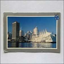 Expo 86 Canada Place Vancouver 1986 Postcard (P429)