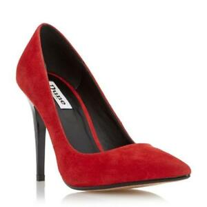 Dune Azara Red Pointed Toe High Heel Court Shoe RRP £69 UK 5 EU 38 LN088 VV 08