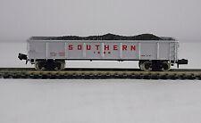 Vintage N Scale Bachmann Model Train Southern Coal Car #1228 Gondola W/ Load