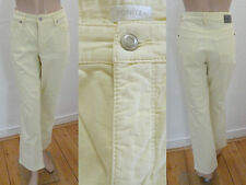 Bonita Jeans Hose Sommer 5 Pocket Straight Leg Stretch Gelb 42 Top Zustand Cool