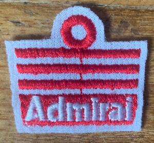 Original 1970 Admiral Football Embroidered Shirt Badge Manchester United England