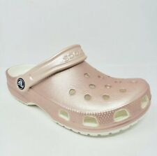 NWT Crocs Classic Metallic Clogs. Women's Size 11 ☆ Rose Gold ☆ New ☆