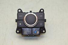 12-16 W166 MERCEDES ML350 ML63 AUDIO INFO RADIO COMMAND SWITCH KNOB CONTROLLER