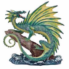 "Andrew Bill ""Aqua"" Dragon Figurine Limited Edition Retired."