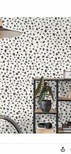 12940 Dalmatian Spot Wallpaper Black And White