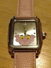 Vintage Pink Panther watch, running with new battery C