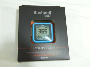 New Bushnell Golf Phantom - Blue - GPS Rangefinder with magnetic mount
