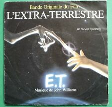 "7""- SP - BOF-OST -E.T. L'EXTRA-TERRESTRE-JOHN WILLIAMS-SPIELBERG-FRENCH MCA 1982"
