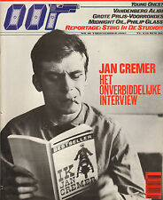 MAGAZINE OOR 1985 nr. 18 - JAN CREMER (COVER) / PHILP GLASS / STING/MIDNIGHT OIL