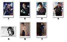 Matt Smith alias Doctor Who (2013) -  Autogrammfotokarten Auswahl