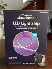 Holiday Show Home LED Light Strip 10' Feet Color-Changing Bluetooth App