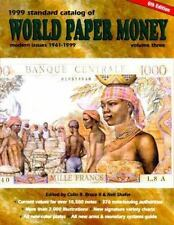 Standard Catalog of World Paper Money 2000: Modern Issues : 1961-2000 -ExLibrary