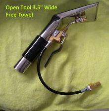 "Carpet Detail Upholstery Tool Air Flow Ctrl En closed internal Jet Wand 4/"" USA"
