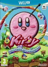 Kirby e il Pennello Arcobaleno Nintendo WII U ITA NUOVO SIGILLATO!