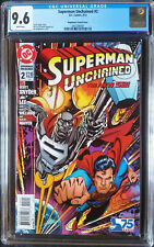 Superman Unchained (2013 DC) #2 Bogdanove Variant CGC 9.6 1:25